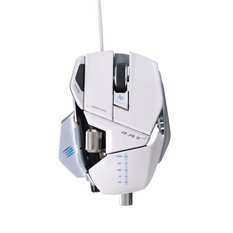 Madcatz R A T 7 Gaming Mouse Putih mad catz 174 r a t 7 gaming mouse for pc and mac white