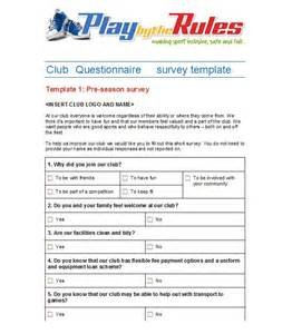 free survey questionnaire template 30 questionnaire templates word template lab