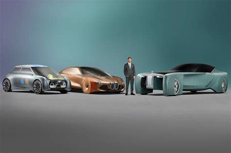 roll royce bmw bmw reveals mini rolls royce vision next 100 concepts