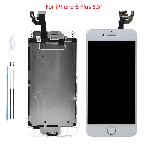 Lcd Iphone 6 Plus Replika white lcd touch screen display digitizer assembly replacement for iphone 6 plus ebay