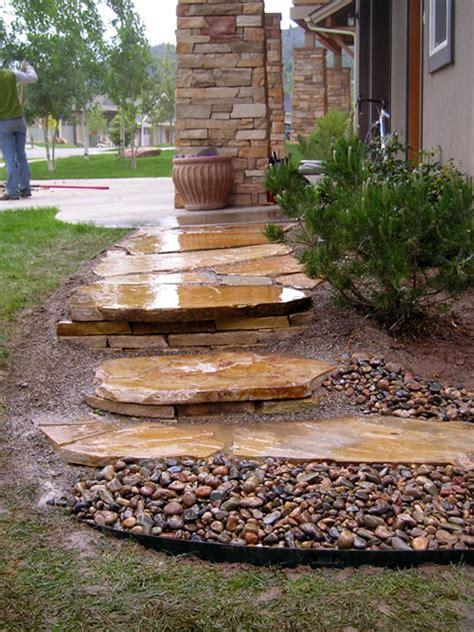 New Home Lighting Design landscaping in durango colorado outdoor steps amp stairways