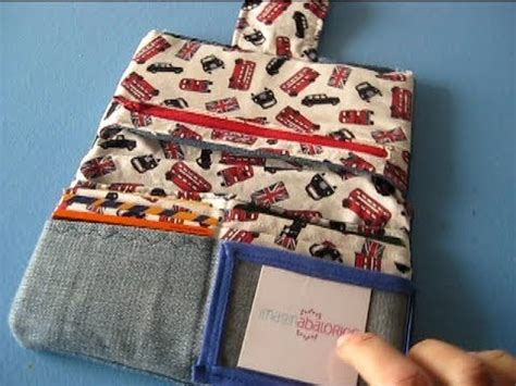 yutube com hacer cartera como hacer una cartera monedero de tela costura youtube