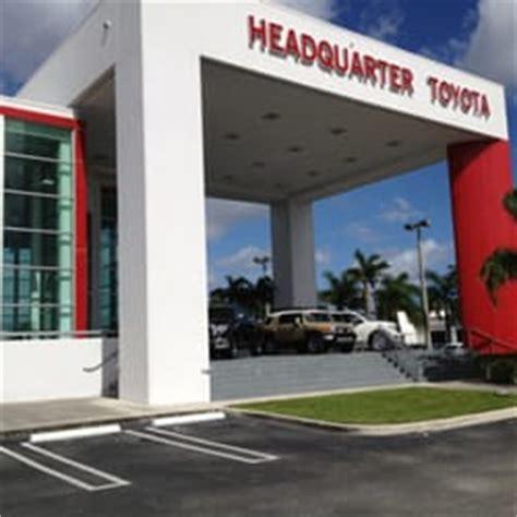 Headquarter Toyota Miami Headquarter Toyota Car Dealers Miami Fl Reviews