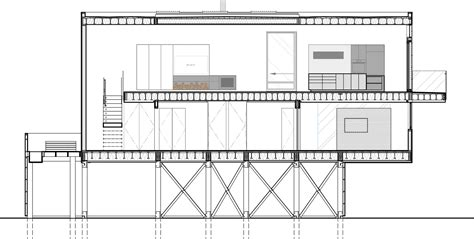 section structure gallery of beach walk house spg architects 17