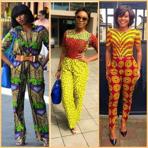 Hf 2 963 Jumpsuit Lace jumpsuits that prove ankara is chic fashion