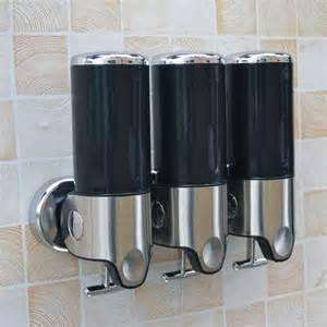 bathroom dispenser bathroom shoo shower gel liquid soap dispenser pump