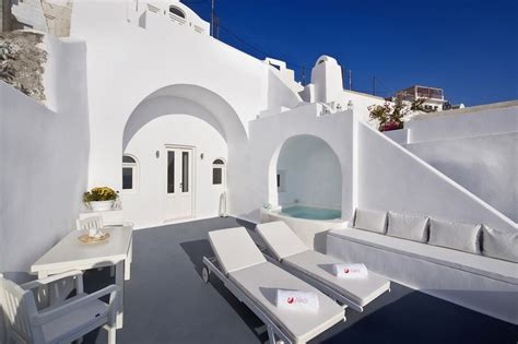 Small Architects House Santorini Architecture Wonderful Terrace With Small Pool Do