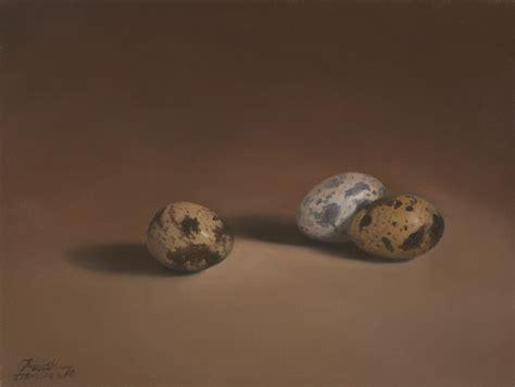 quail eggs daily paintings