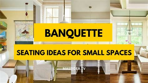 seating for small spaces 30 awesome banquette seating ideas for small spaces 2017
