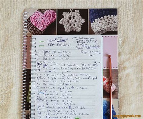 crochet pattern writing write your own crochet patterns 3 simple tips loopinglymade