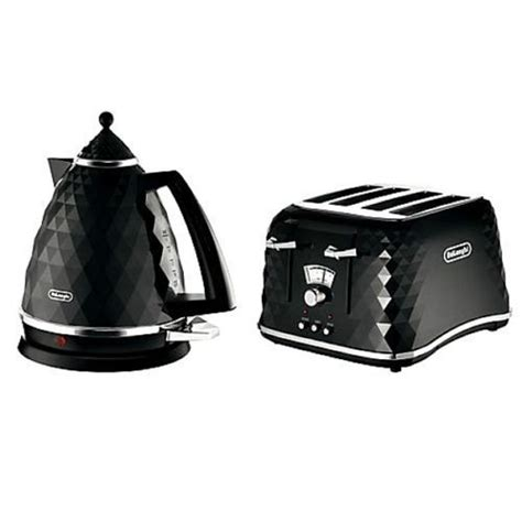 White Breville Toaster Delonghi Electric Kettle And Toaster Set Brillante 4 Slice