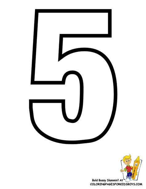 Number 5 Coloring Page Classic Alphabet Printables Learning Letters Free by Number 5 Coloring Page