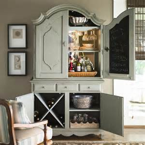 Paula Deen Bar Cabinet Paula Deen Home Armoire With Bar Hutch Social Cabinets Bar Armoires