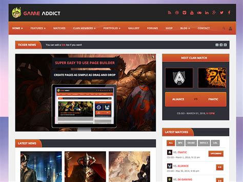 best themes in games 28 best gaming wordpress themes 2018 athemes