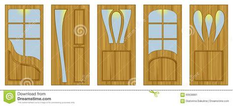 stock porte interne porte interne illustrazione di stock immagine 60638881
