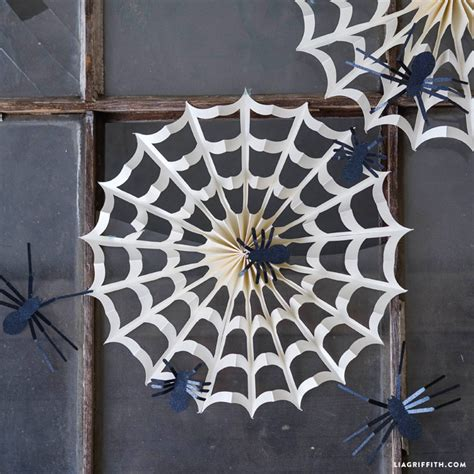 Spider Decorations by Accordion Spider Web Decorations Lia Griffith