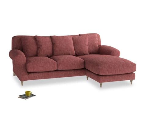 squishy couch super squishy sofa in dark red for cosy times in front of