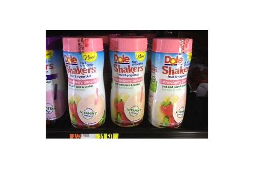 dole smoothie shakers coupon 2018