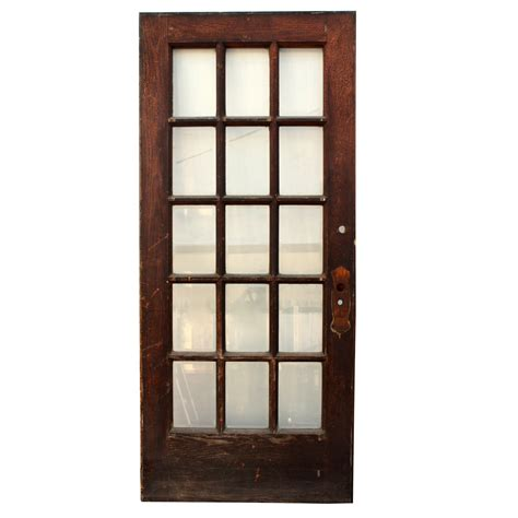 36 Exterior Door With Window Antique Salvaged 36 Exterior Divided Light Door With Beveled Glass Ned84 Rw For Sale Antiques