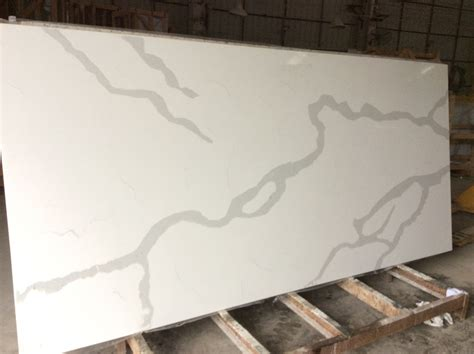 Newstar best rated affordable bathroom wall mount calacatta white marble veins real quartz