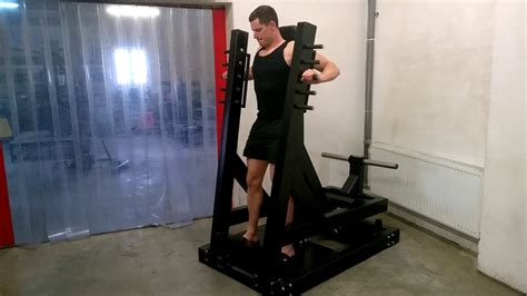 standing bench press machine a6 standing chest press machine plate loaded youtube