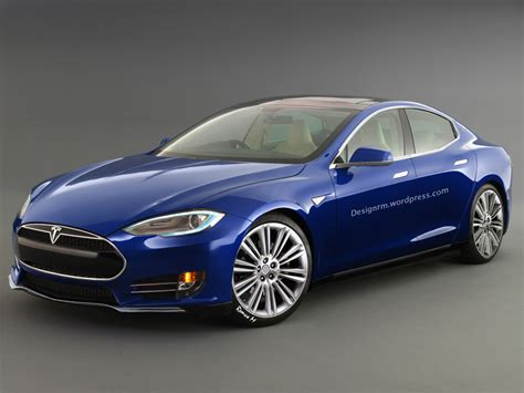 Model E Tesla New Tesla Model E Rendering Autoevolution