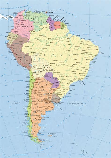 imagenes satelitales america del sur el ba 250 l de la geograf 237 a per 250 y mundo mapa am 201 rica del sur