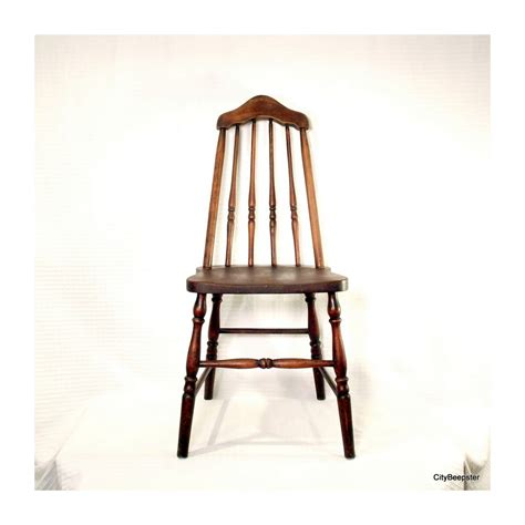 Wooden Kitchen Chairs by Pull Up A Chair Antique Wood Chair 1930s Taper Back
