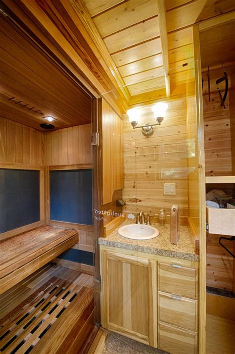 Plans For Cottages And Small Houses Amazing Tiny House Vacation With Sauna