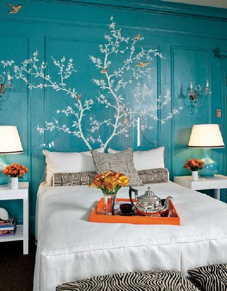 turquoise walls bedroom home decorating excellence
