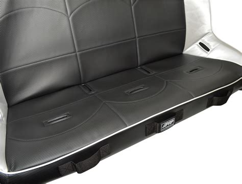 rear bench seats 52 quot teryx4 rear bench black prp seats