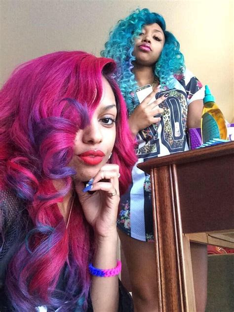sew in weave purple to pink sew in pin by niyy sstackz on colored sew ins more pinterest