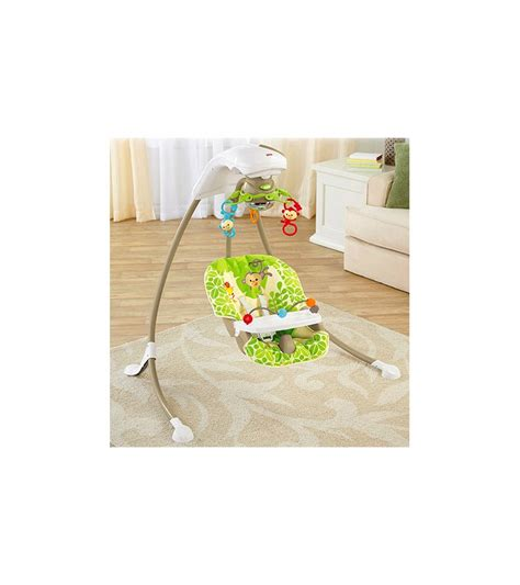 fisher price outdoor swing fisher price rainforest friends cradle n swing