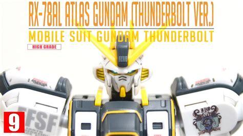 Hgtb 1 144 Atlas Gundam review 2 0 hgtb 1 144 아틀라스 건담 썬더볼트 ver atlas gundam thunderbolt ver
