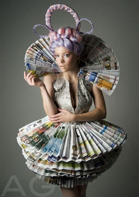How To Make A Paper Dress To Wear - best 20 recycled dress ideas on paper clothes