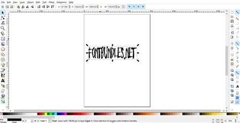 inkscape zombie tutorial how to use fonts in inkscape design bundles