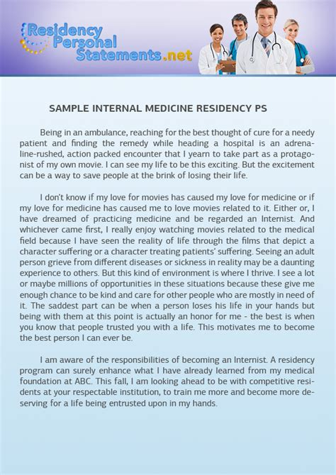 Mba Healthcare Residency by Recommendation Letter For Residency Image