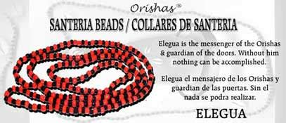 santeria color meanings santeria bead necklace elegua and black
