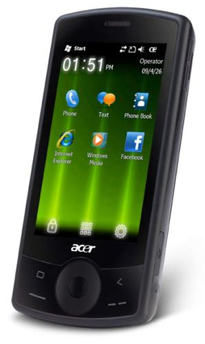 Hp Acer Windows Phone acer betouch e100 phone photo gallery official photos