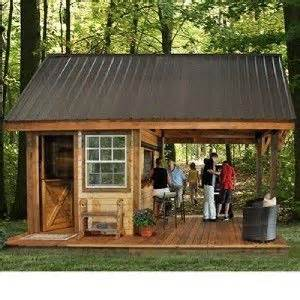Shed Bar by New Western Backyard Outdoor Cabana Bar Building