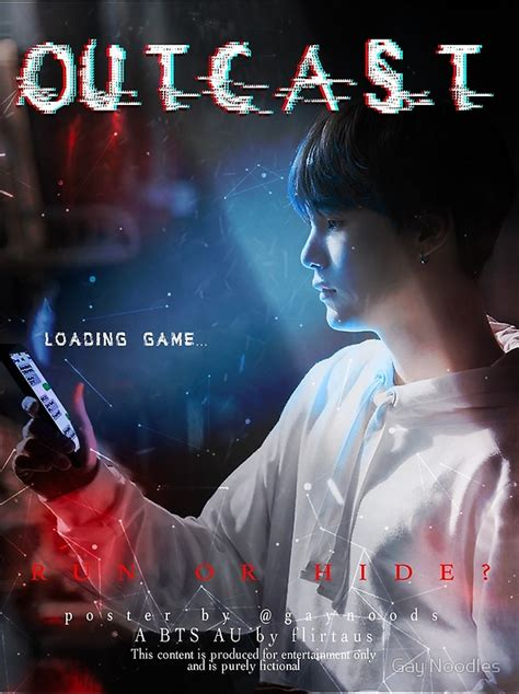 bts outcast quot outcast poster bts yoongi quot posters by gay noodles