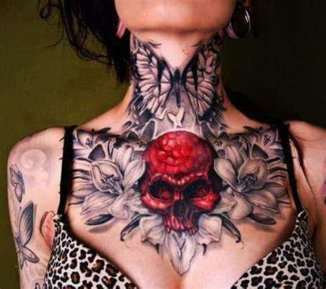 Tattoo Chest Neck | the 25 best ideas about neck tattoos on pinterest back