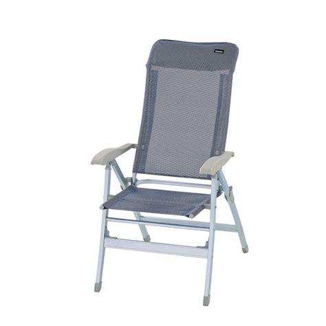 fauteuil trigano fauteuil de cing fauteuil cing alu dossier haut trigano bleu trigano