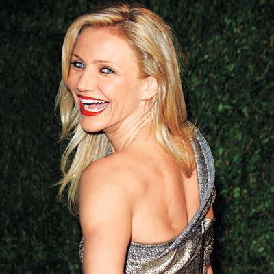 Cameron Diaz Is Back by 10 Ways To A Flatter Tummy Instyle