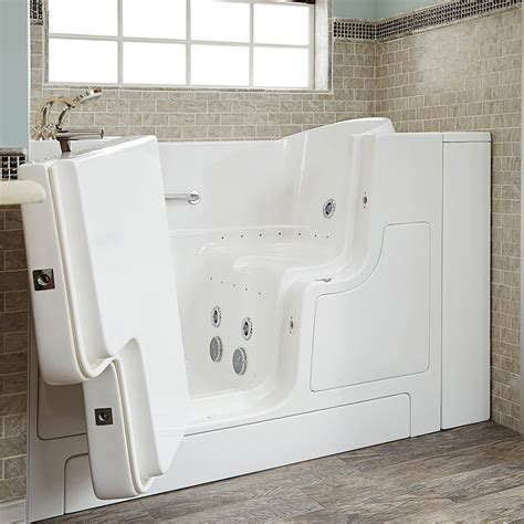 bathtub with door walk in tub gelcoat premium series 30x52 walk in bathtub with