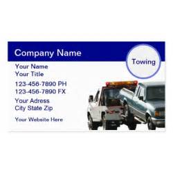 towing business cards towing business cards zazzle