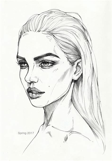 pencil sketch 3 by antarcticspring on