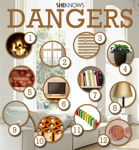 unsafe things at home 12 things in your living room that can kill your toddler