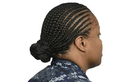 military hairstyles cornrows navy issues new hairstyle policies for female sailors