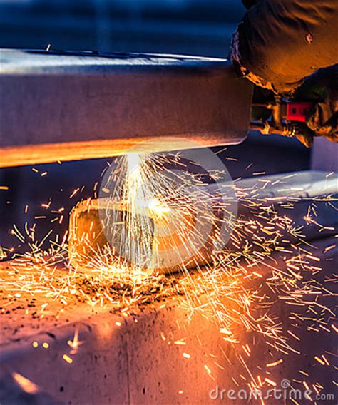 worker cutting steel pipe using metal stock photo 380191102 worker cutting steel pipe using metal torch and install roadside stock photo image 45811571